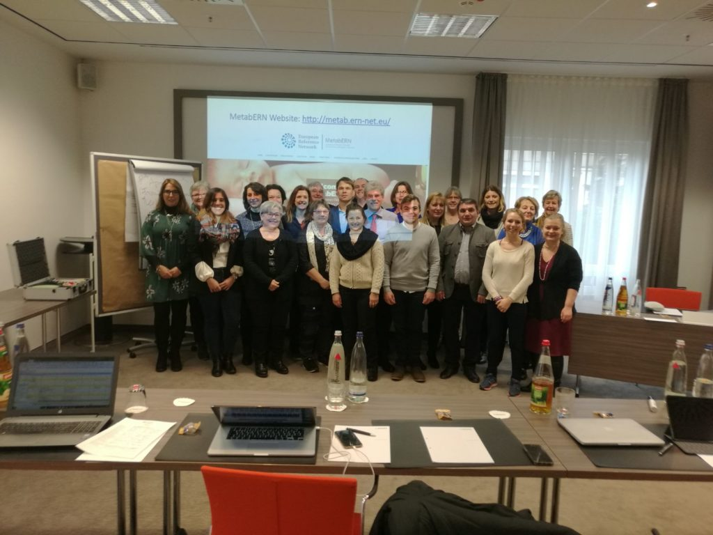 MetabERN held its first meeting with Patient and Family Associations