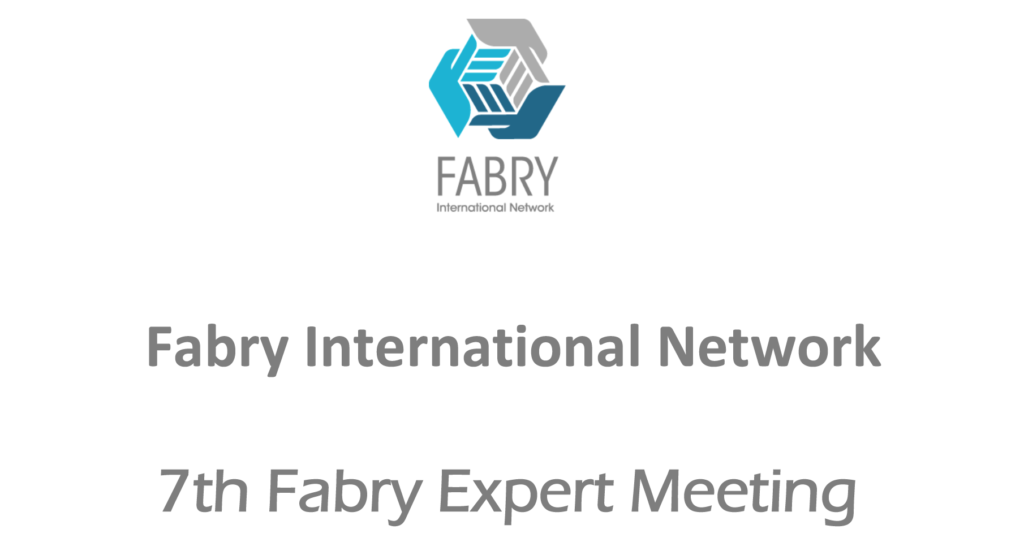 7th Fabry Expert Meeting | 21/22 – 26 May 2019