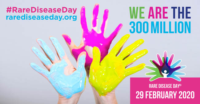 Rare Disease Day 2020: Get involved