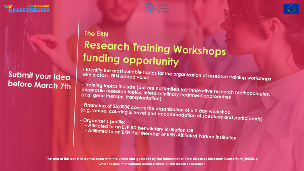European Joint Programme on Rare Diseases | Calls and Training Courses