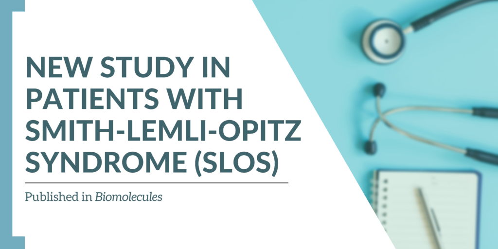 New study in patients with Smith-Lemli-Opitz syndrome